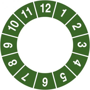 Pastilles calendrier à completer non permanent
