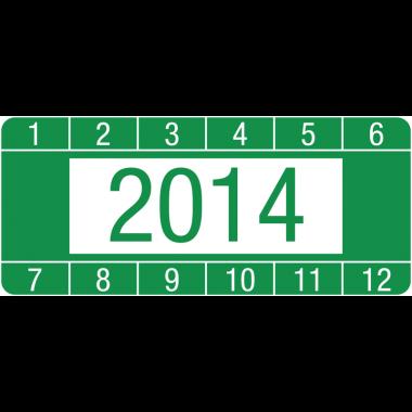 Pastilles calendrier en papier laminé format rectangulaire
