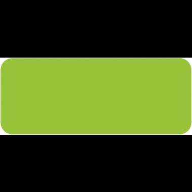 Pastilles adhésives colorées en papier rectangulaires et ovales