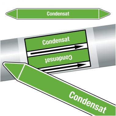 """Marqueurs de tuyauteries CLP """"Condensat"""" (Eau)"""