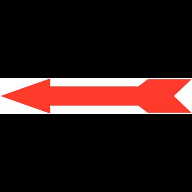 Flèches adhésives fluorescentes en plastique