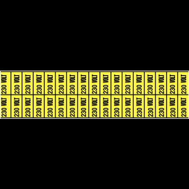 Marqueurs de voltage, de phases, mise à la terre et isolation