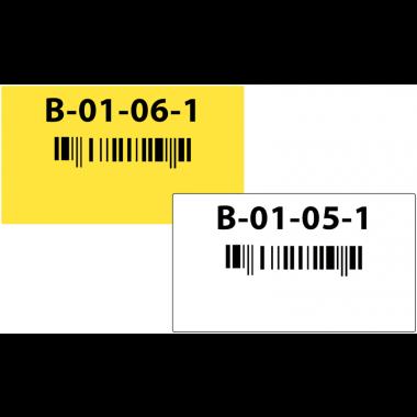 Etiquettes de localisation pour marquage au sol en entrepôt