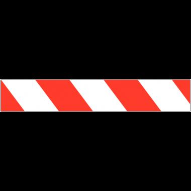 Rubans de signalisation haute qualité rayés sans texte