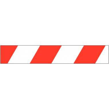 Plaques de signalisation adhésives en vinyle