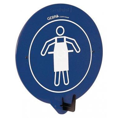 """Crochet porte-EPI avec pictogramme """"Vêtement de protection obligatoire"""""""