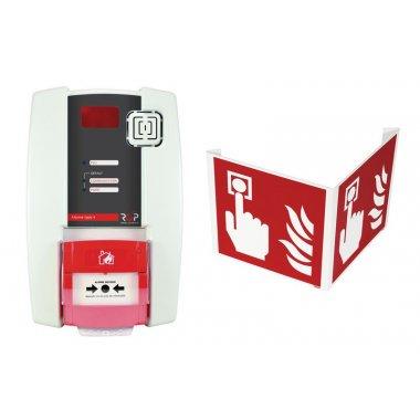 Kit centrale d'alarme type 4 radio avec flash et signalisation 3D