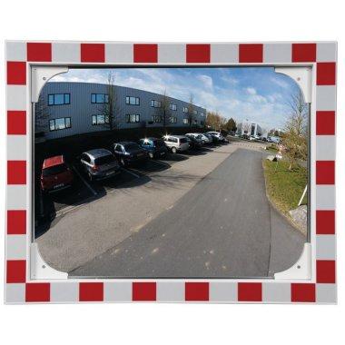 Miroir de sécurité anti-buée autonettoyant