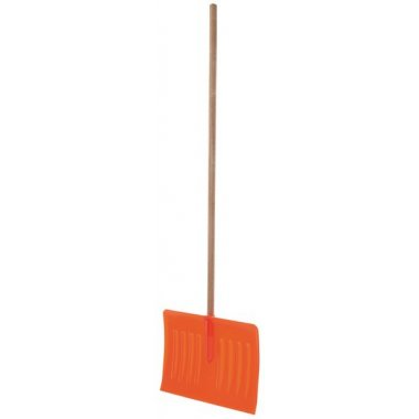 Poussoir en polypropylène avec manche en bois