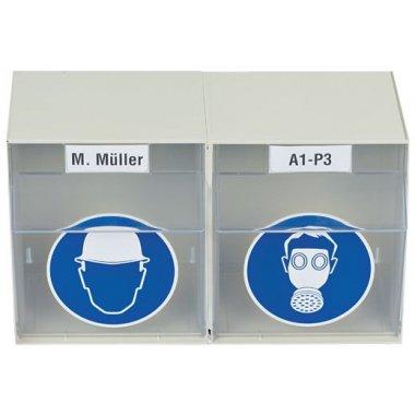 Boîtes de rangement personnalisables pour EPI