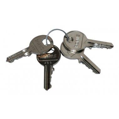 Trousseau de clés normalisées