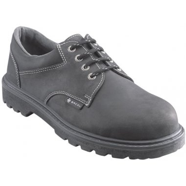 Chaussures de sécurité homme en cuire huilé, avec talon anti-choc classe S3