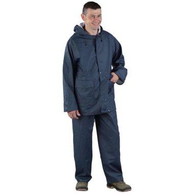 Veste et pantalon de pluie en PU