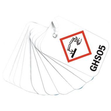 Porte-clé pédagogique sur les 9 symboles de produits dangereux