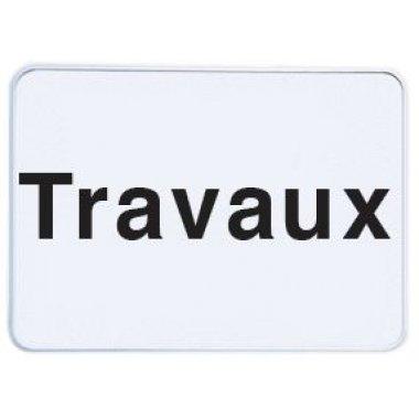 Panonceau de signalisation - Travaux