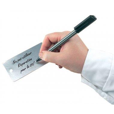 Plaquettes d'inspection haute résistance en carton recouvert d'aluminium