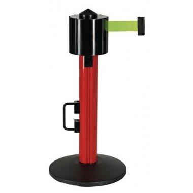 Poteaux à sangle étirable de 9m avec hauteur et couleur au choix