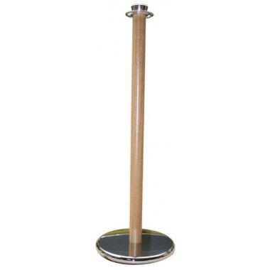 Poteau bois et métal à coupelle multidirectionnelle pour cordes