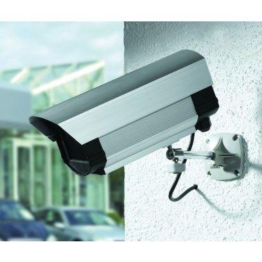 Caméra vidéosurveillance factice orientable sur 360°