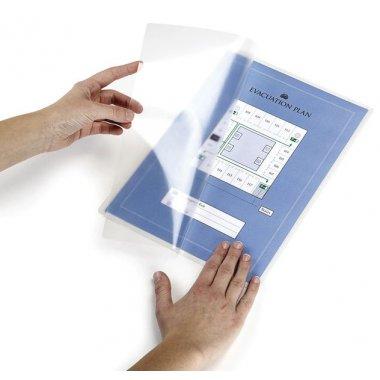 Pochettes pour plastification à froid avec dos adhésif repositionnable