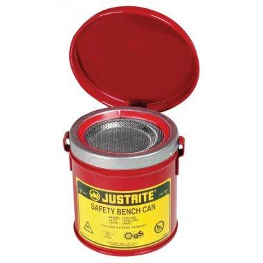 Bacs de trempage d'établis pour produits inflammables