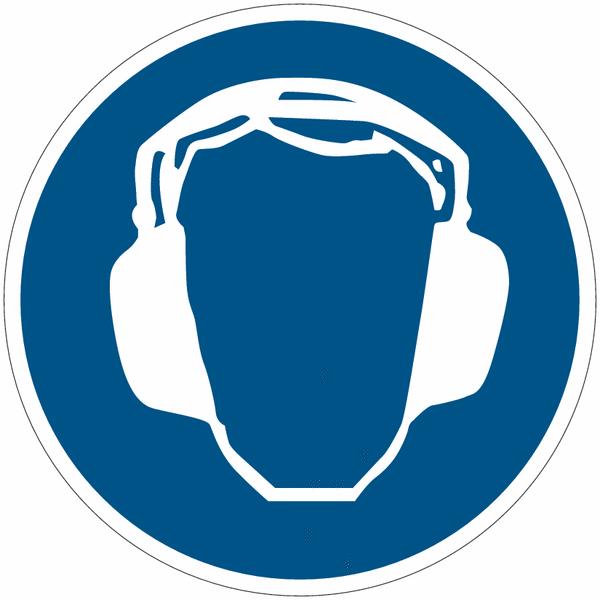 Etiquettes de signalisation pour machines protection - Pictogramme port du masque obligatoire ...