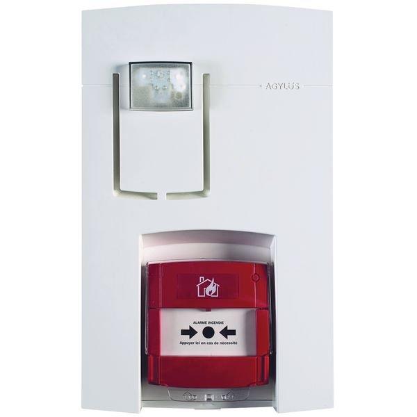 Alarme type 4 radio avec flash AGYLUS