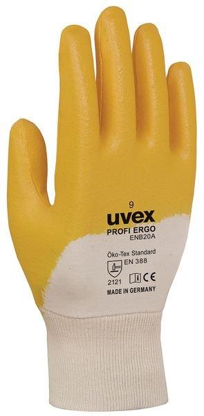 Gants de travail Ergo Uvex Profi