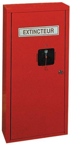 armoire m tallique pour extincteurs seton fr. Black Bedroom Furniture Sets. Home Design Ideas