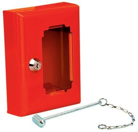 Boîte pour clés de secours avec marteau homologuée H520