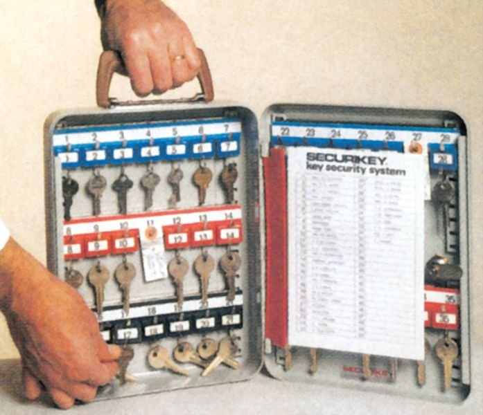 Boîtes à clés transportable