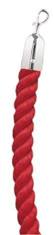 Cordons en velours ou polypropylène pour poteaux à cordes