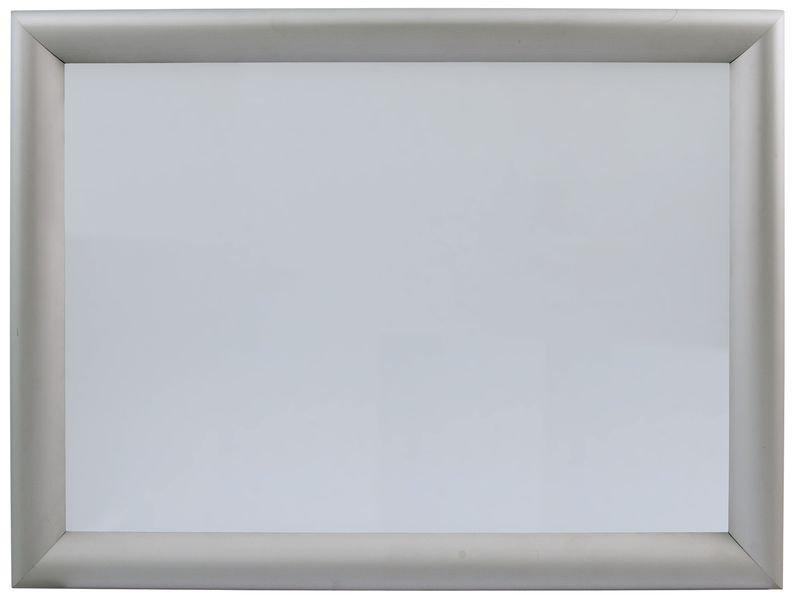 Porte-affiches avec cadre clic à fermeture sécurisée non visible