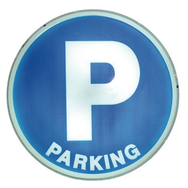 """Panneau lumineux """"Places de parking"""""""