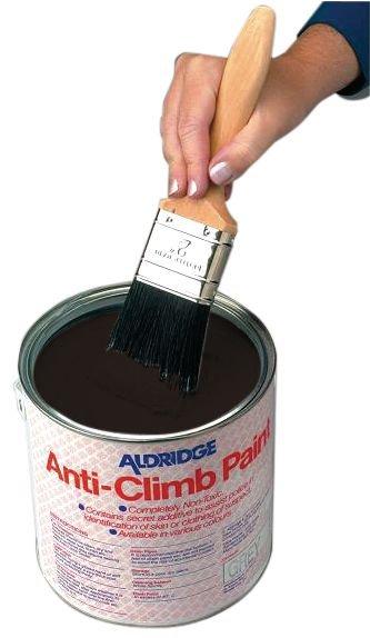 Peinture anti-adhérente pour rendre une surface glissante