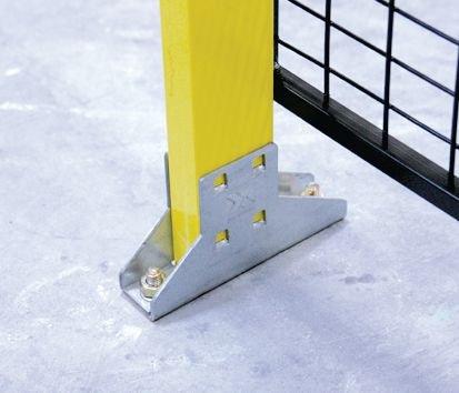 Poteaux pour construction d'espaces sécurisés