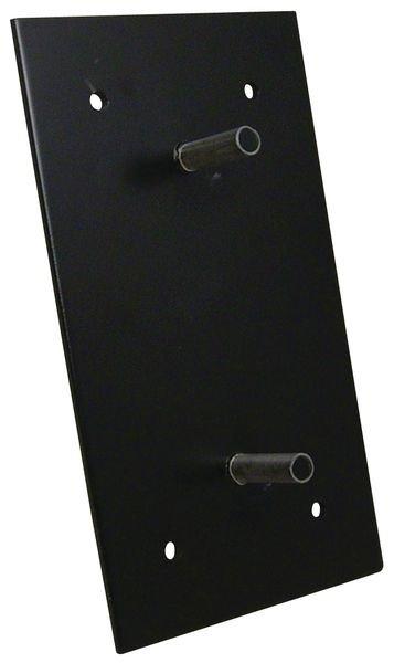 Platines de fixation en métal pour butées de quai HEQ