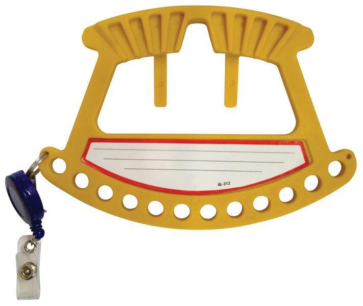 Poignée porte-cadenas