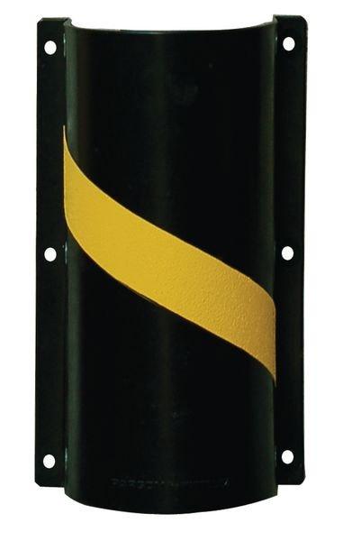Protège-conduit en polypropylène noir et jaune