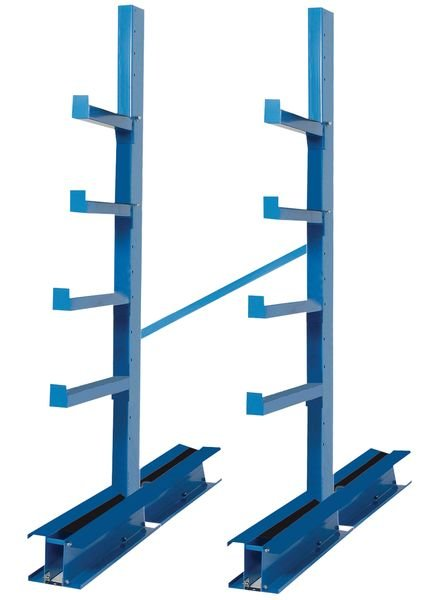 Rayonnage pour stockage horizontal de charges longues