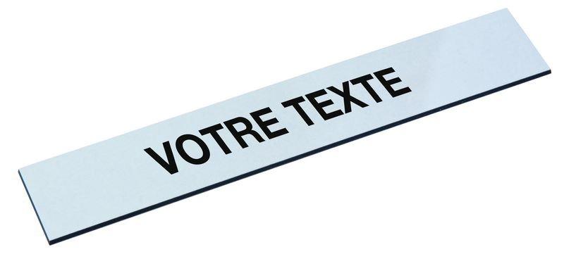 """Plaque gravée supplémentaire pour tableau """"Entrées / Sorties"""""""