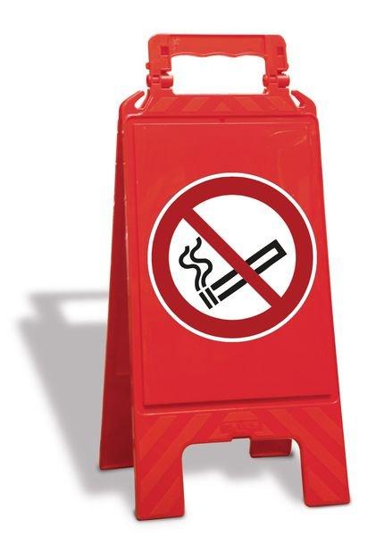 Chevalet de signalisation interdiction de fumer - P002