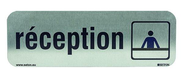 Plaque adhésive en inox personnalisable en ligne