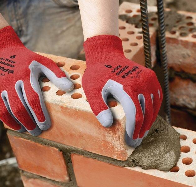 Gants de protection Polyco® Mad Grip en coton renforcé