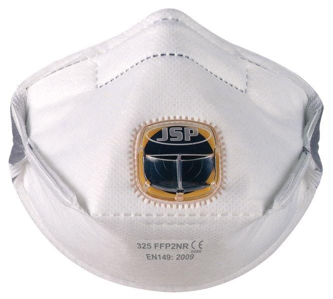 Masque anti-poussières pliable JSP® Typhoon™ - FFP2 avec valve