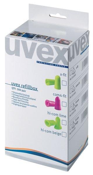Recharges de bouchons d'oreilles Uvex pour distributeur