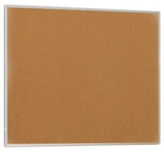 Tableau liège modulable avec tableau blanc et grille d'exposition