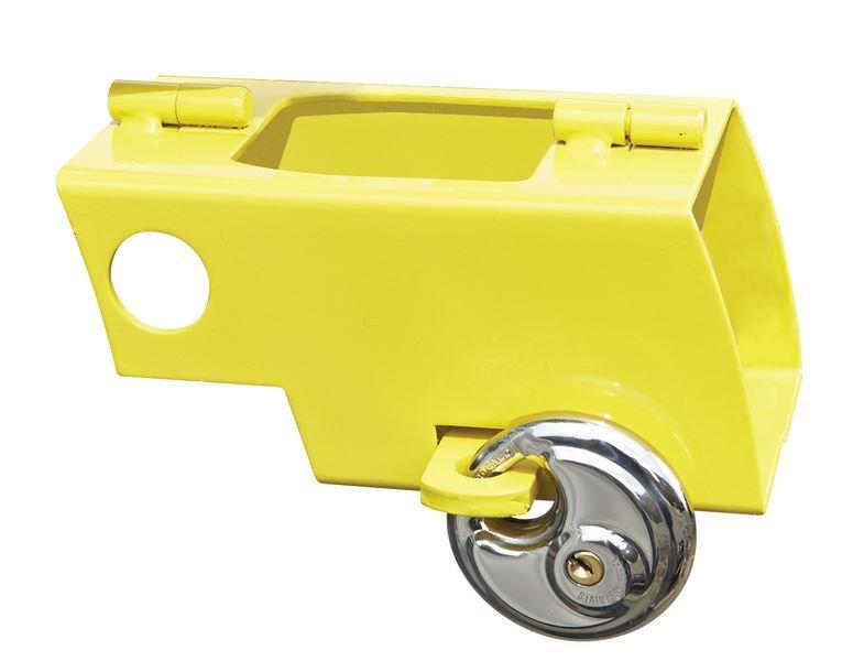 Antivol bloque roue remorque en acier