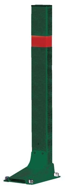 Poteaux de parking flexibles à 45° à bandes réfléchissantes