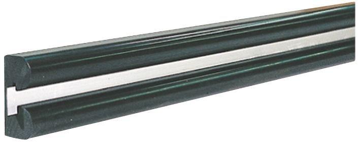 Lisses de protection en élastomère avec bande de fixation aluminium